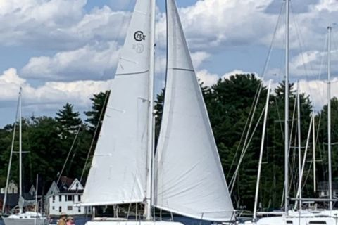 1979 25ft. Cal 25-2 Sailboat